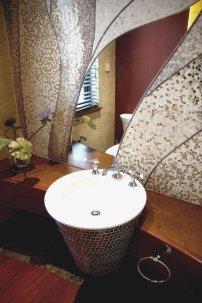 室内装修卫生间水池效果图设计图