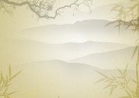 古典水墨中国风高清psd文化背景图下载图片
