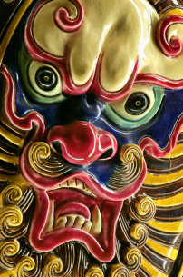 素材 东方/龙的雕刻...