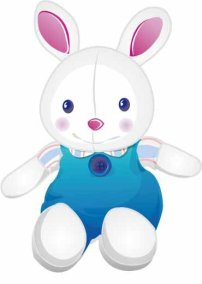 动物 兔子 小白兔/插花 动物小白兔 兔子