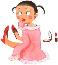 怎么打扮小女孩