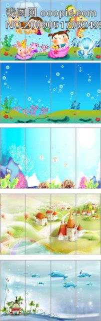 海底世界高清图片下载(图片编号14735983)电视背景墙