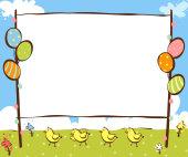 学校幼儿园布告栏_学校展板_展板展架模板_微