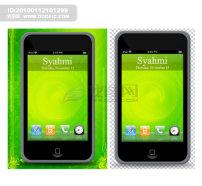 手机 网页/iPodTouchPSD手机网页图标分层